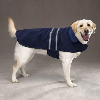 Casual Canine Reflective Dog Winter Coat Jacket Brushed Velvet Fleece