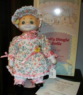 MIB COA GOEBEL DOLLY DINGLE BETTE BALL CAT PUSSYKINS DOLL LE MUSICAL