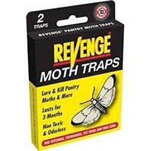 Revenge Pantry Bird Seed Pet Food Pest Moth Traps 2pk