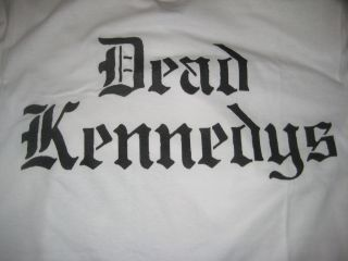 Dead Kennedys T shirt Punk Rock Band DK w FREE DECALS STICKERS