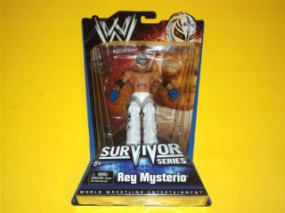 WWE SURVIVOR SERIES REY MYSTERIO 6 MATTEL ACTION FIGURE   BRAND NEW