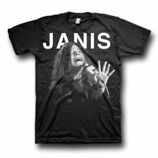 JANIS JOPLIN   Janis Singing   T SHIRT S M L XL 2XL Brand New Official