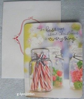 TAYLOR SWIFT * IM DREAMING * GLITTER 3 D CHRISTMAS CARD NEW