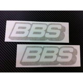 BBS RIM Racing Decal Sticker (New) Gold x2