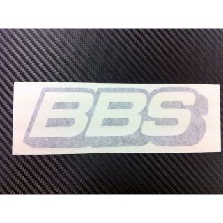 BBS Rim Racing Decal Sticker (New) Black