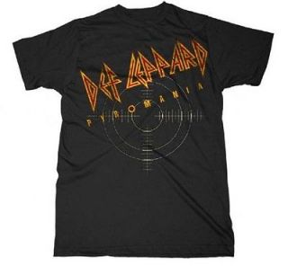 NEW Def Leppard Pyromania T Shirt   S, M, L, XL