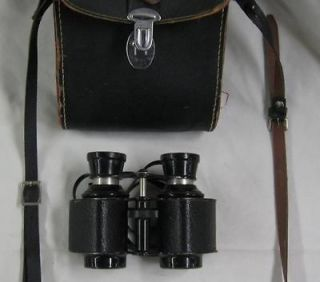 Vintage Airguide No. 27 Binoculars with Compass Case