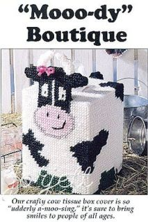 Mooo dy Cow Boutique Tissue Box Cover pc pattern