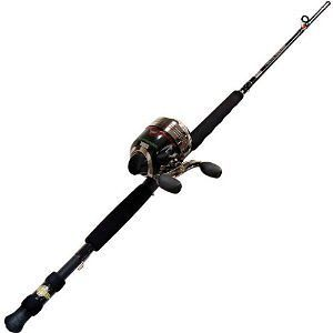 HAWG SEEKER With BITE ALERT SC Fishing Rod and Reel Combo Catfish Bass