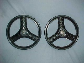 Stealth Style 16 PIT BIKE MAGS Old School BMX Wheel Set Spin Smooth