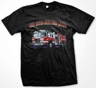 Big Toys For Big Boys Fire Fighter Firefigher Heroes Pride Cool T