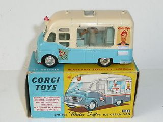 Corgi 428 Mister Softee Ice Cream Van NrMint Boxed