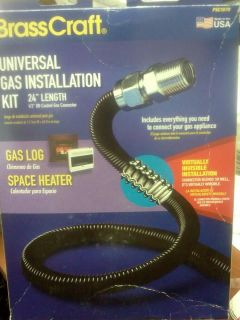 BrassCraft Gas Log/Space Heater Gas Installation Kit PSC1079