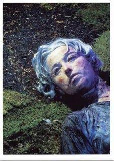 Bizarre Dead Girl Cindy Sherman Art Photo Postcard