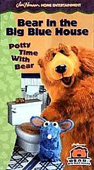 Bear in the Big Blue House   Potty Time with Bear [VHS] Lynne Thigpen