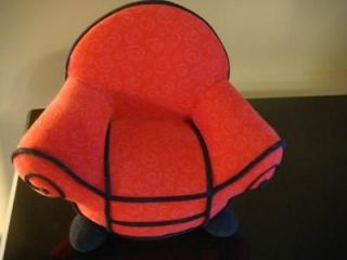 BLUES CLUES RED THINKING PLUSH CHAIR 12 X 9.5 X 6 Mint Condition