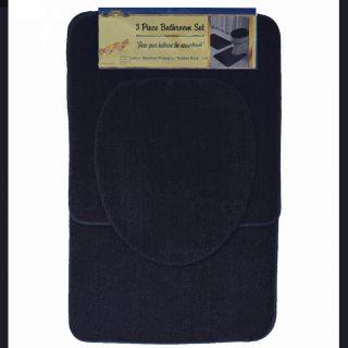 black bath rugs