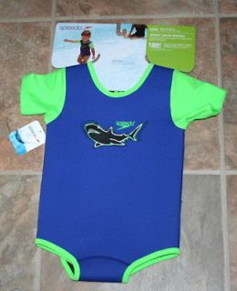 NEW NWT TODDLER BATHING SWIM SUIT ONESIE SUNBLOCK NEOPRENE SPEEDO FREE
