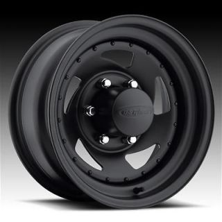 204 Series Stealth Blade Black Steel Wheels 15x7 5x4.75 BC Set of 5