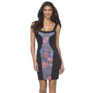 NWT KIM Kardashian Kollection Glass Amaze bodycon fitted black dress