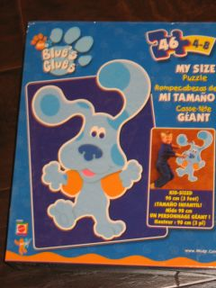 Brand NEW Blues Clues Room HUGE MY SIZE 3 feet 46 piece WOW Puzzle
