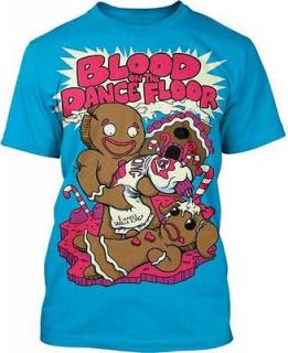AUTHENTIC LICENSED BLOOD ON THE DANCE FLOOR ICING ON TOP T SHIRT