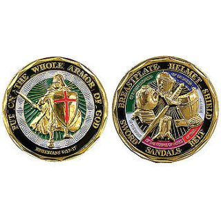 NEW Armor of God Coin ~ Spiritual Courage Blessing