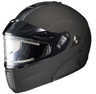 HJC IS MAXBT Bluetooth Snow Helmet with Electric Shield MATTE BLACK