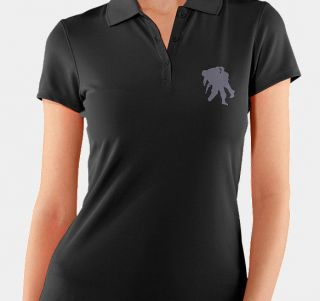 Under Armour Womens Wounded Warrior Project Polo Shirt Size Small