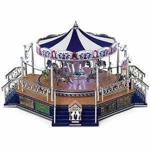Worlds Fair Platinum Boardwalk Carousel #79784 NIB FREE SHIPPING