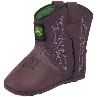 35 John Deere Kids Baby/Infant Wellington Infant Bootie Purple