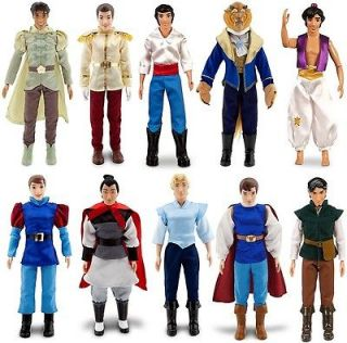 Disney Prince Ken Princess Barbie Dolls   Eric Li Shang