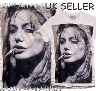 New Angelina Jolie Brad Pitt Salt Fight Club T Shirts Sizes S M L XL
