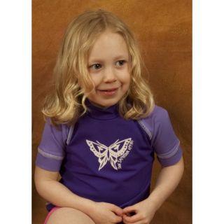 Toddler Girls Swim Shirt UV Sun Protection Rash Guard Size 2T, 3T, 4T
