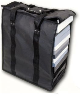 LARGE JEWELRY CARRYING CASE BLACK TRAVEL CASE & JEWELRY TRAYS & LINERS