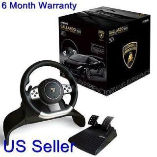 Lamborghini Super Sport Evo Steering Racing Wheel for PS3 / PS2 / PC