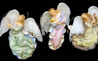 Bradford Exchange Celestial Angels Christmas Ornament Set of 3