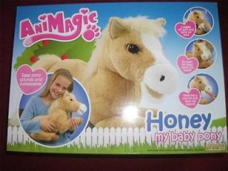 ANIMAGIC HONEY MY BABY PONY **REAL SOUNDS~MOVEMENTS~INTERACTIVE*BRILL