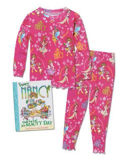 NWT BABY GIRL FANCY NANCY PINK DRESS SIZE 2T BOOKS TO BED SAKS 5TH AVE