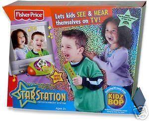 NEW FP Kidz Bop Star Station Karaoke Machine System
