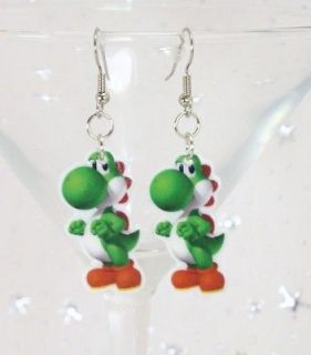 Yoshi Earrings* Kitschy Kawaii Super Mario Bros