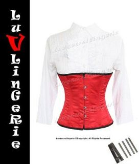 9965R Full Steel Boned Underbust Shaper Corset 6XL