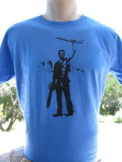 Bruce Campbell ASH Army of Darkness Evil Dead 2 T Shirt
