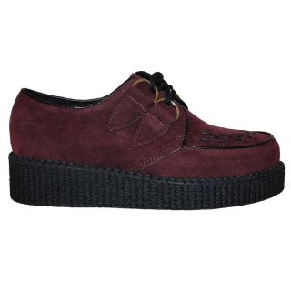 LADIES FLAT PLATFORM LACE UP WEDGE GOTHIC PUNK CREEPERS SHOES TRAINERS