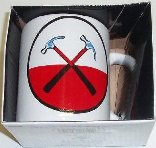 PINK FLOYD CROSS HAMMERS COFFEE MUG Ceramic NEW IN BOX