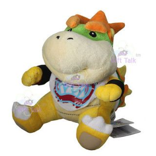 Super Mario Bros Bowser Jr. Soft Stuffed Plush Doll Toy 7 Inch Koopa