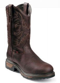 Tony Lama Mens TLX Briar Pitstop Leather Cowboy Western Work Boots