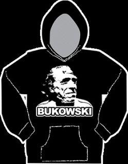 Charles Bukowski Pullover Hoodie Sweat Shirt All Sizes