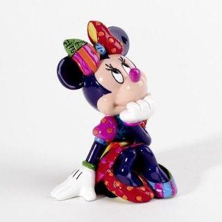 Newly listed ✿ DISNEY Romero Britto Mini Figurine Minnie Mouse