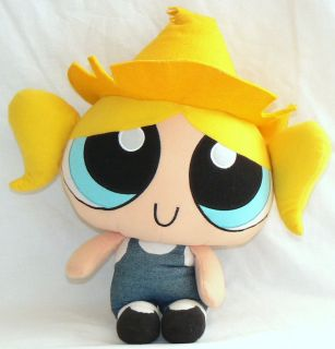 POWER PUFF GIRLS PLUSH BUBBLES TALKING PRE OWNED